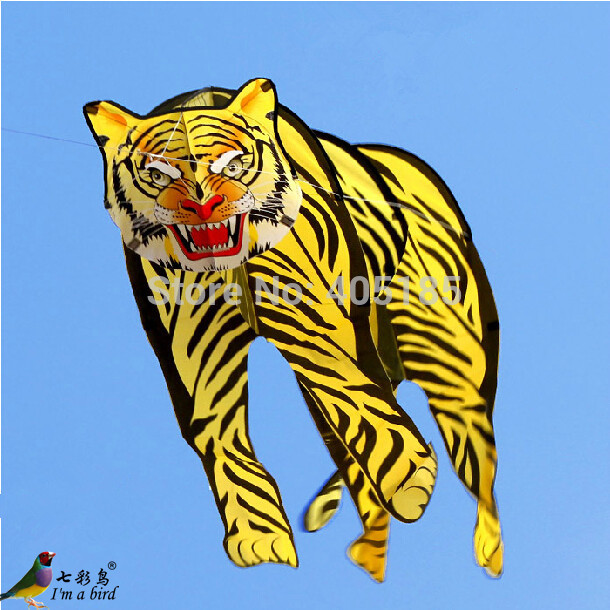 Free-Shipping-Outdoor-Fun-Sports-2m-3D-Tiger-font-b-Kite-b-font-font-b-Good
