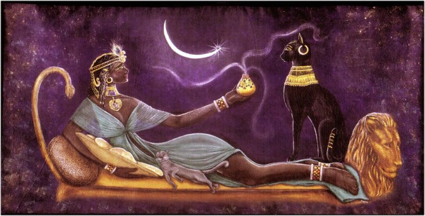 spiritualism-2-egyptian-goddess-bast-original-lithograph-print_-by-seshetta-diveena-seshetta-art-and-prints